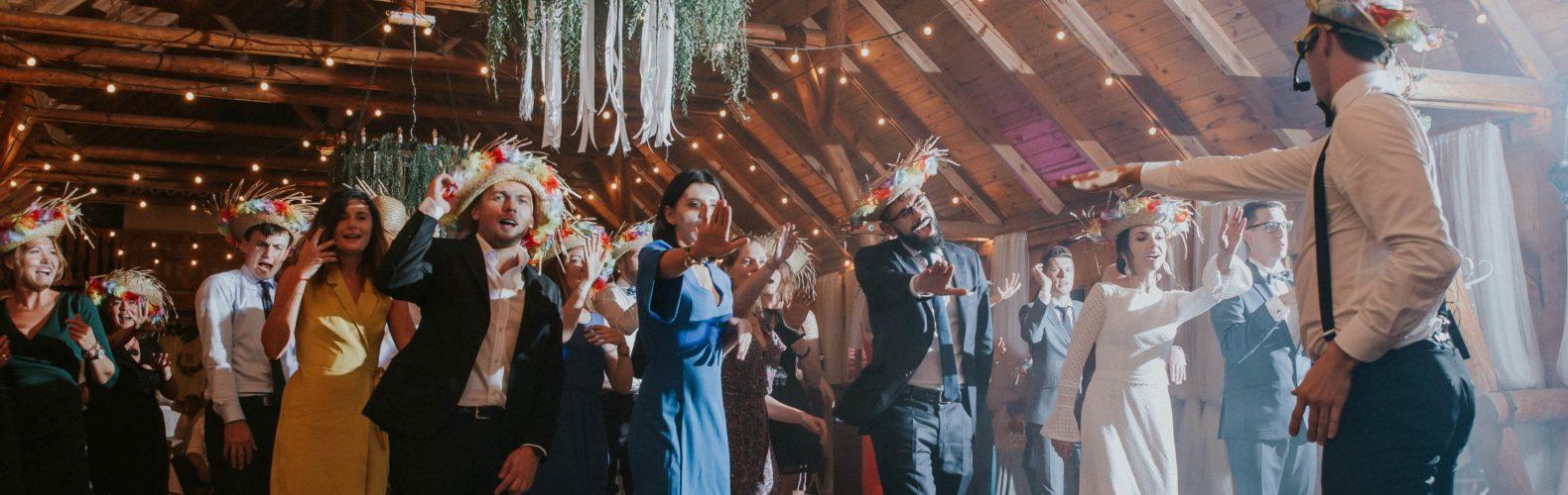 animacje taniec na weselu